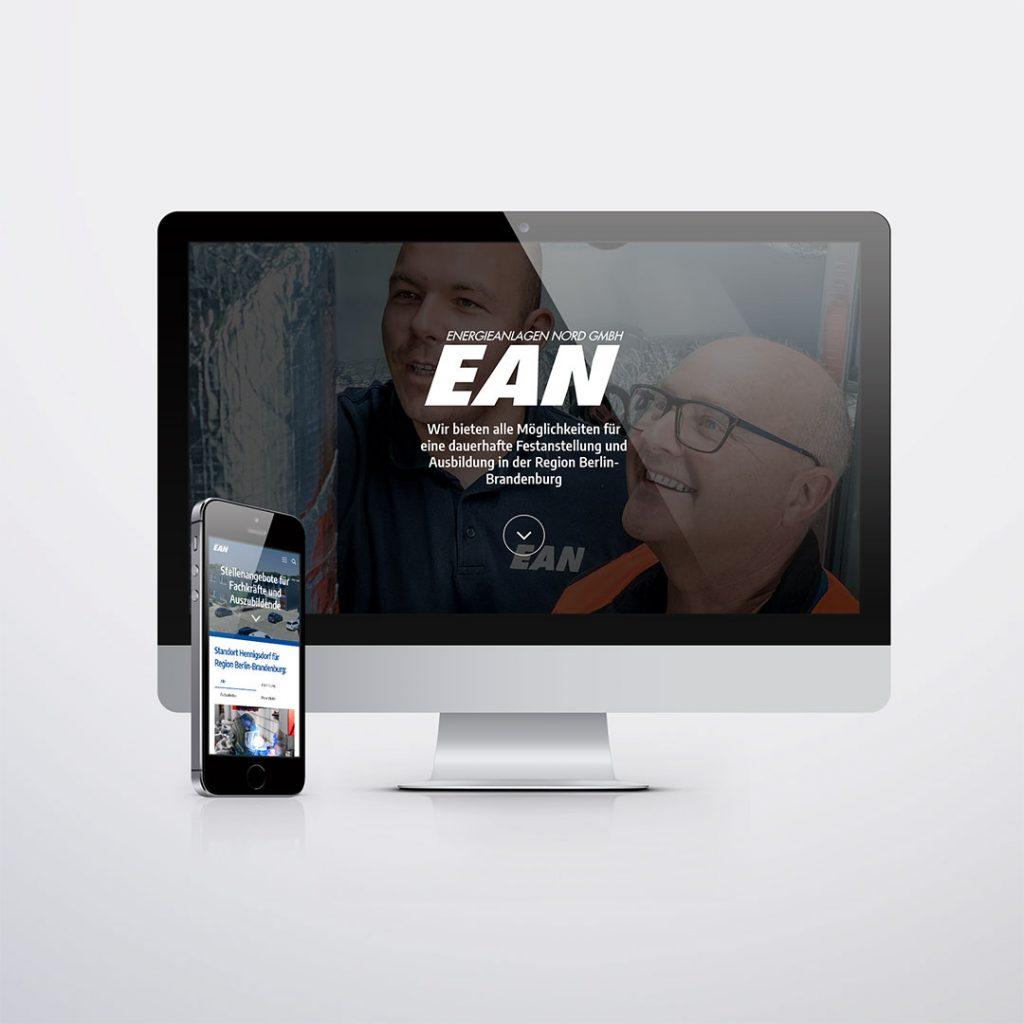 EAN Stellenangebote Landingpage