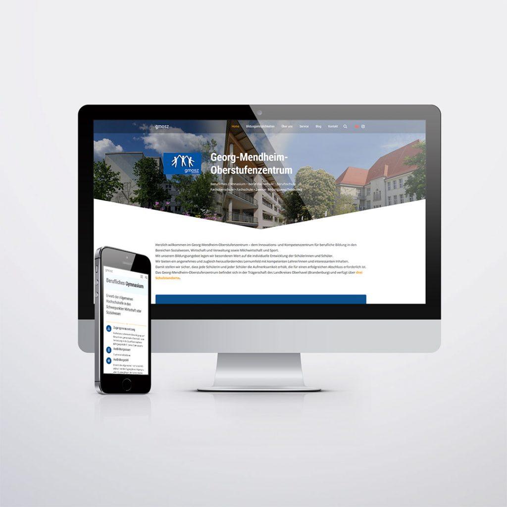 Webdesign für Georg Mendheim OSZ