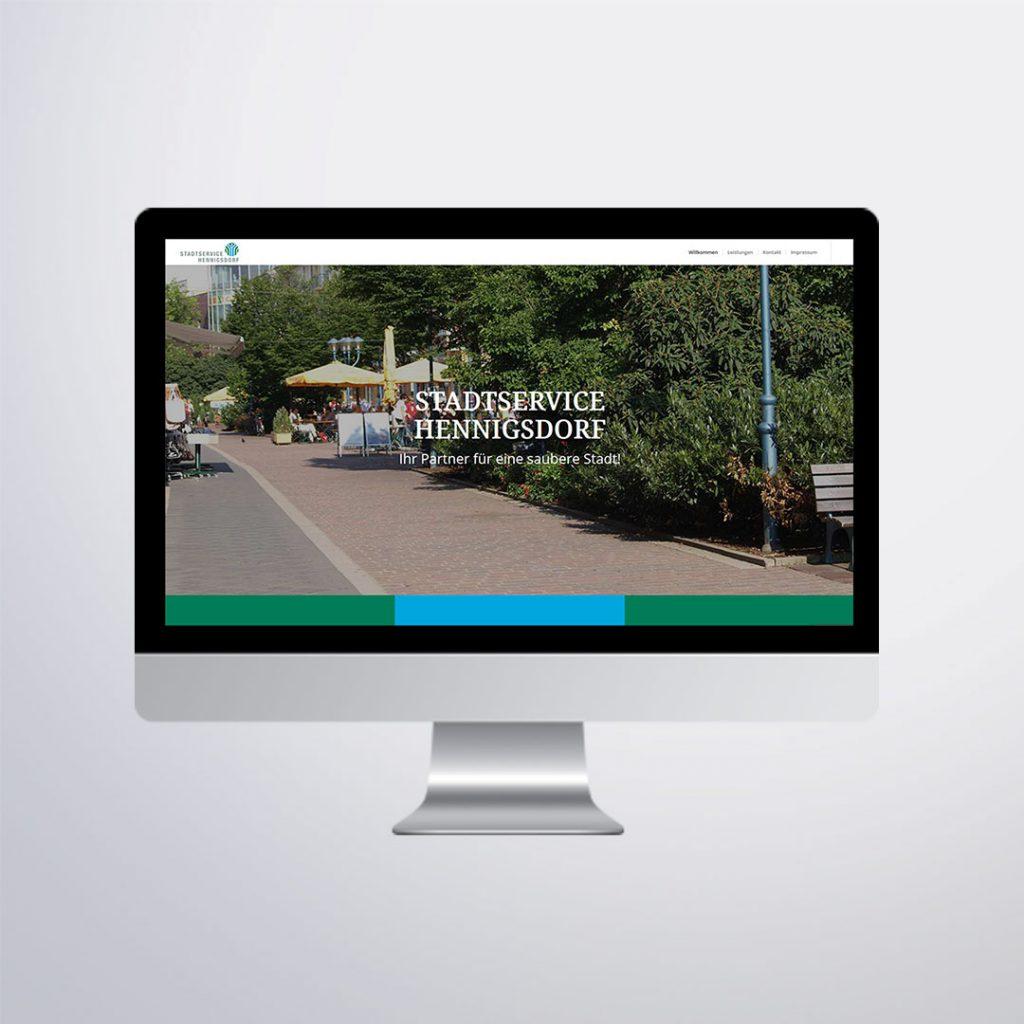 Webdesign für Stadtservice Hennigsdorf