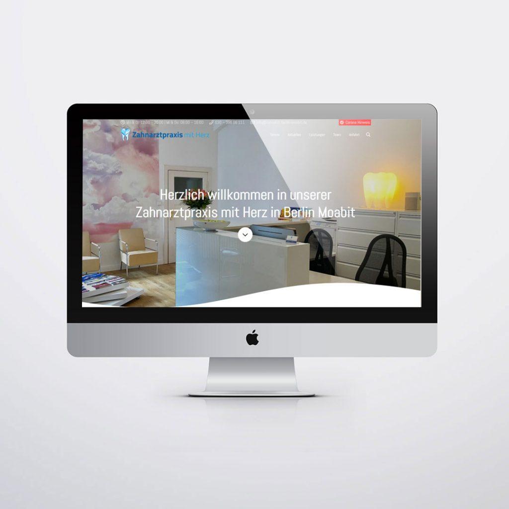 Webdesign für Zahnarztpraxis Neroch